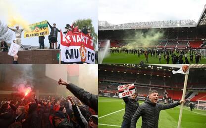Protesta e caos tifosi, rinviata United-Liverpool