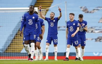 Festa rimandata per il City, il Chelsea vince 2-1