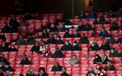 Premier League, tifosi allo stadio dal 18 maggio