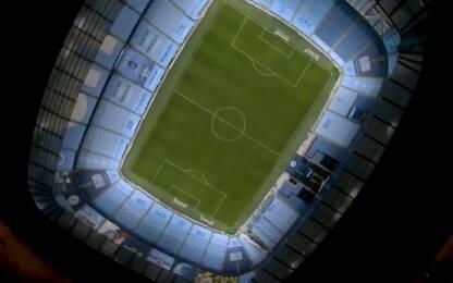 City campione, lo spettacolare video dal drone