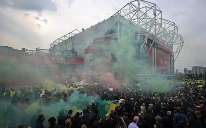 Manchester, ancora proteste: ma stavolta si gioca