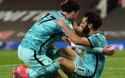 Il Liverpool batte lo United, Champions nel mirino