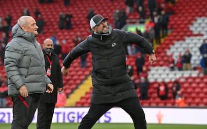 Liverpool e Chelsea in Champions, Tottenham 7°