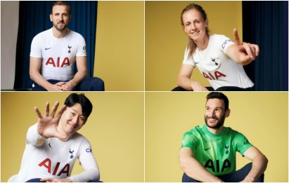 Tottenham, ecco la nuova maglia: c'è anche Kane