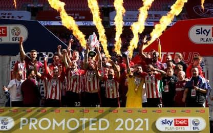Brentford promosso, torna in Premier dopo 74 anni