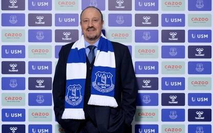 Everton, Benitez è il nuovo allenatore