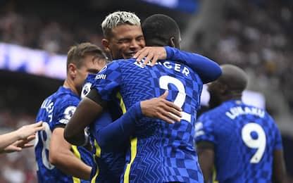 Il Chelsea torna in vetta, 3-0 al Tottenham