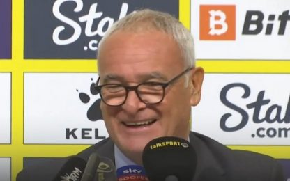 Watford-Liverpool, Ranieri paga la cena se...
