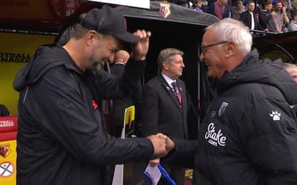 Klopp si toglie il cappello davanti a Ranieri