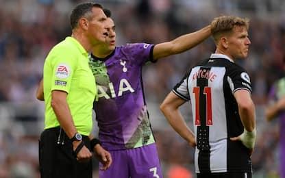 Malore sugli spalti, si ferma Newcastle-Tottenham