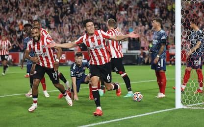 Favola Brentford, Arsenal battuto 2-0 al debutto