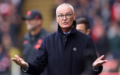 Ranieri, esordio amaro: Watford steso 5-0 dai Reds