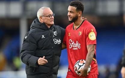 Ranieri vince la prima, 5-2 all'Everton in rimonta