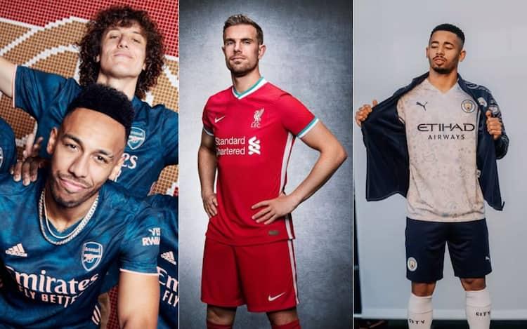 Premier League, le nuove maglie del campionato inglese 2020 2021 ...