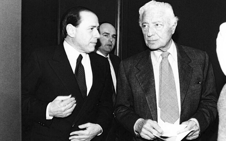 Berlusconi e Agnelli