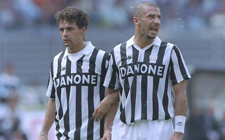 Baggio e Vialli