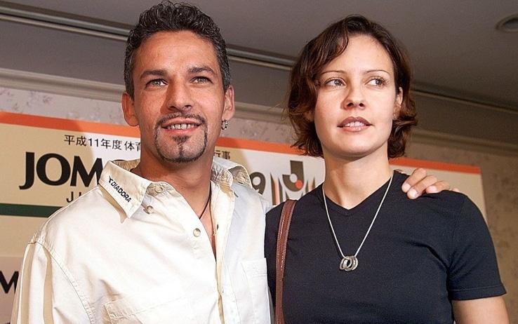 Baggio e moglie