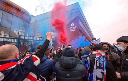 Rangers in delirio, che festa per il titolo! FOTO