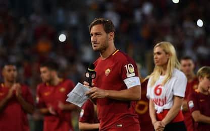Totti e l'addio al calcio: la lettera integrale