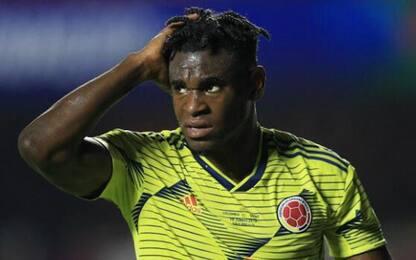 Infortunio Zapata: possibile lesione all'adduttore