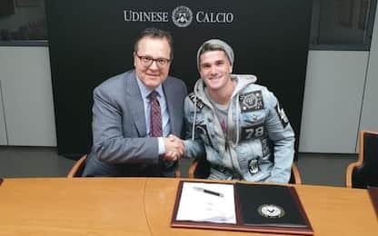 De Paul rinnova con l'Udinese: firma fino al 2024
