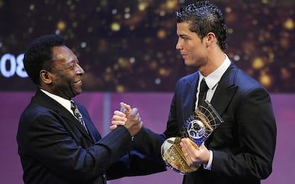"""La promessa di Mendes: """"Ronaldo supererà Pelé"""""""