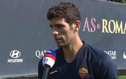"""Fazio a Sky: """"Penso di finire la carriera a Roma"""""""