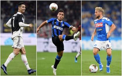 Serie A, 8^ giornata: curiosità e statistiche
