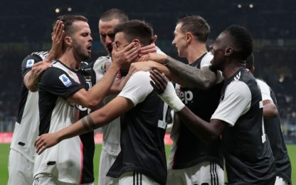 Serie A, le partite e gli orari della 8^ giornata