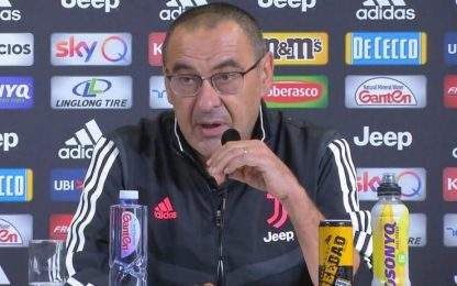 Juventus, parla Sarri: la conferenza stampa LIVE