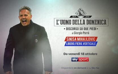 """Sinisa Mihajlovic è """"L'Uomo della Domenica"""""""