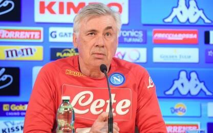Napoli, parla Ancelotti: la conferenza stampa LIVE