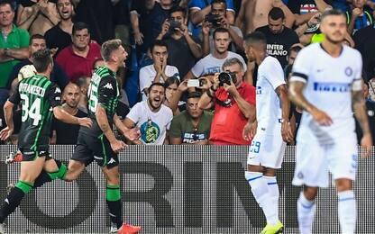 Inter, incubo Sassuolo: 7 ko nelle ultime 9 sfide