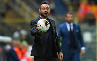 """Sassuolo, De Zerbi: """"Out Chiriches e Ferrari"""""""