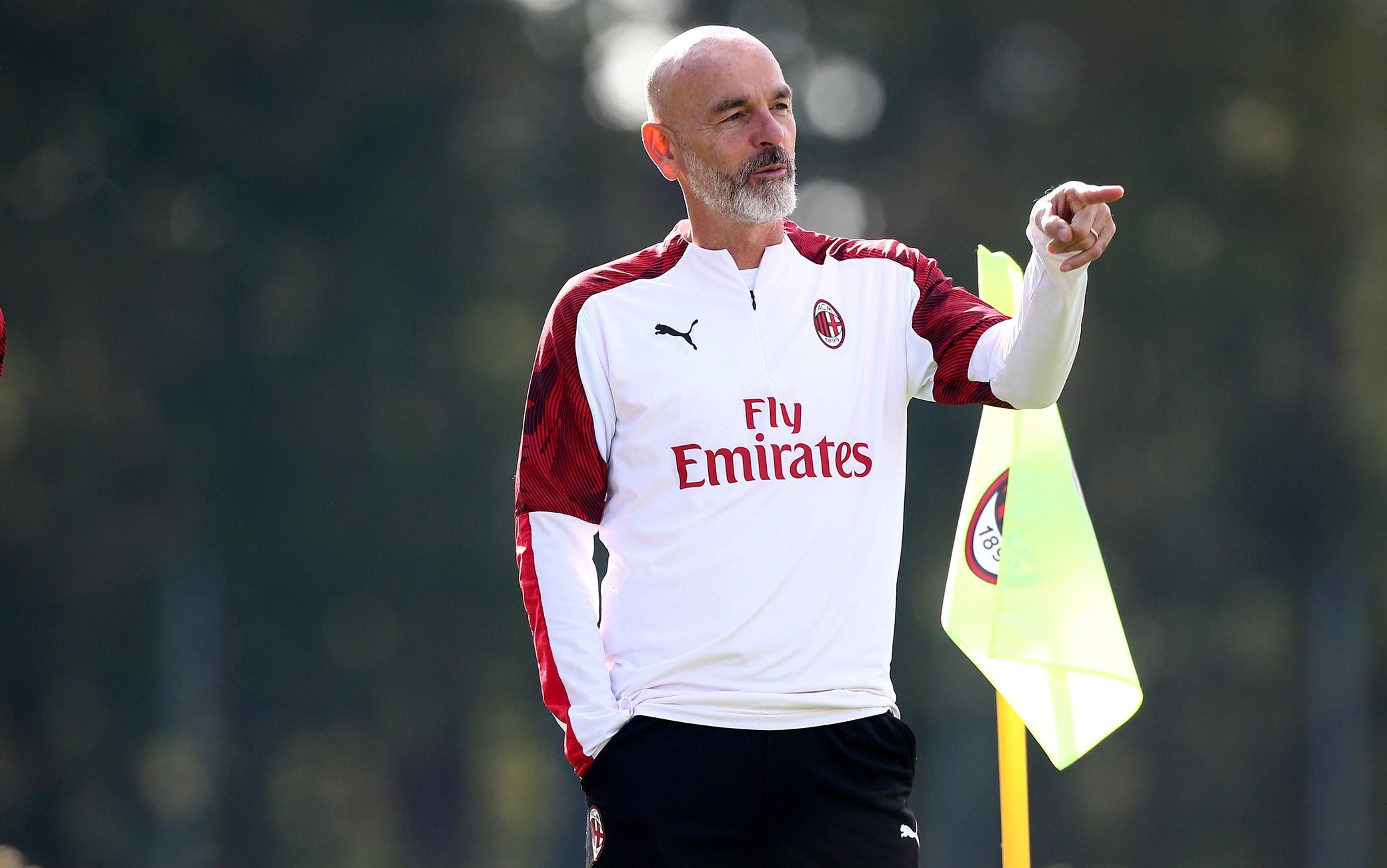 A.C. Milan - Sessione di allenamento
