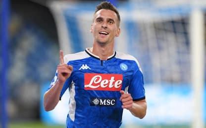 Doppio Milik, il Napoli sorride: 2-0 al Verona