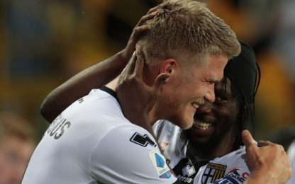Parma-Genoa 5-1 LIVE, gol di Kulusevski