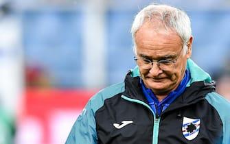 Sampdoria's Italian coach Claudio Ranieri before the Italian Serie A soccer match Uc Sampdoria vs As Roma at Luigi Ferraris Stadium in Genoa, Italy, 20 October 2019ANSA/SIMONE ARVEDA