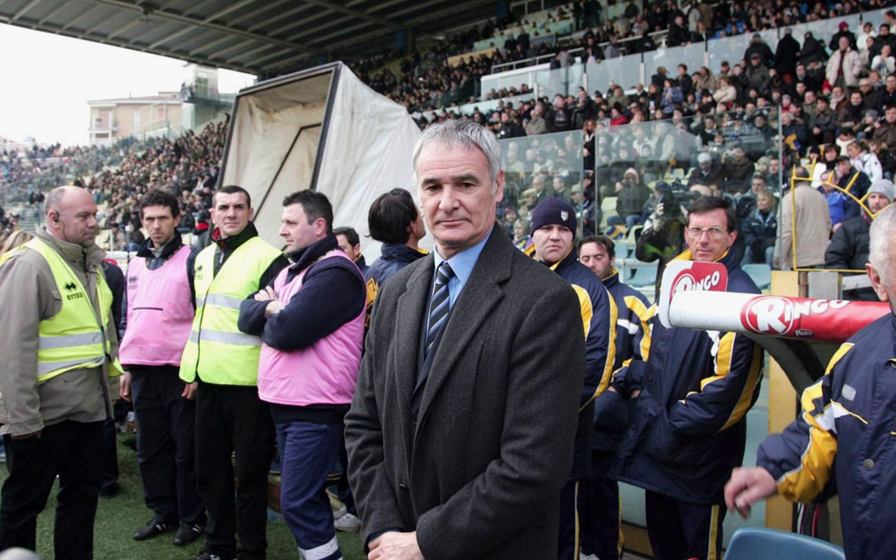 PARMA, ITALY - FEBRUARY 18:  Claudio Ranieri manager of Parma stands on the touchline prior to the Serie A match between Parma and Sampdoria at the Ennio Tardini stadium on February 18, 2007 in Parma, Italy.  (Photo by New Press/Getty Images)