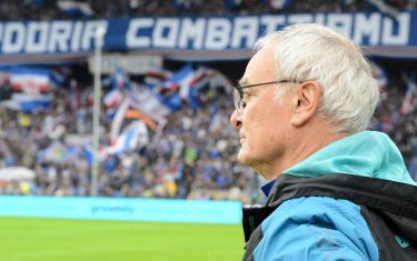 GENOA, ITALY - OCTOBER 20: Claudio Ranieri new head coach of UC Sampdoria during the Serie A match between UC Sampdoria and AS Roma at Stadio Luigi Ferraris on October 20, 2019 in Genoa, Italy. (Photo by Paolo Rattini/Getty Images)