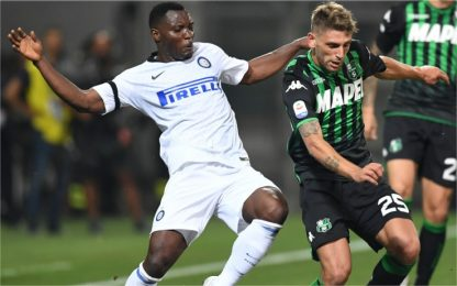 Sassuolo-Inter, dove vedere la partita in tv
