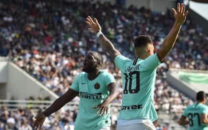 Inter, vittoria col brivido: 4-3 al Sassuolo