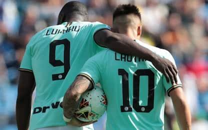"""L'Inter è pazza di """"Lautaku"""", già 9 gol in 2 in A"""