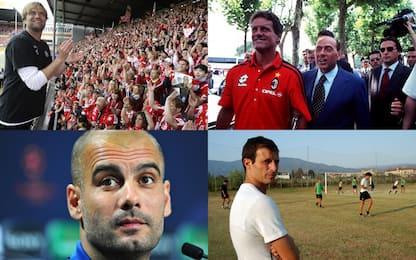 """Ex e poi allenatori: gli """"altri"""" Thiago Motta"""