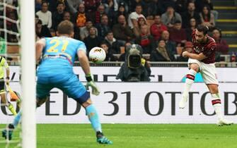 Milan vs Lecce - Serie A TIM 2019/2020