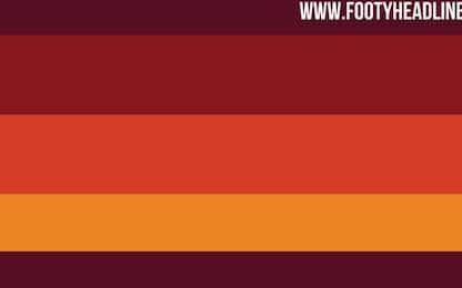 Roma, la maglia 2020-21 è un tuffo nel passato?