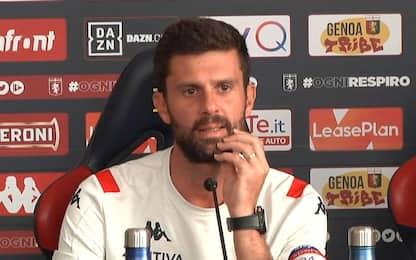 """Thiago Motta LIVE: """"Un' emozione tornare al Genoa"""""""