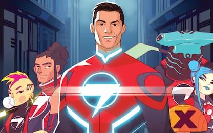 Striker Force 7, Ronaldo è un Supereroe a fumetti