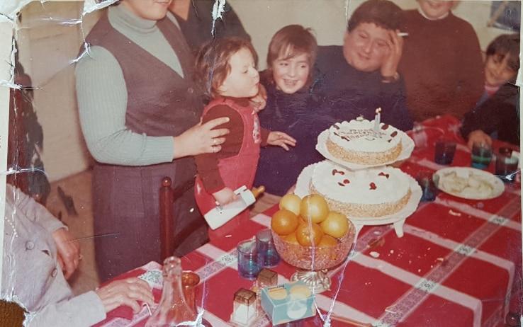 Vincenzo Paparelli ed i figli