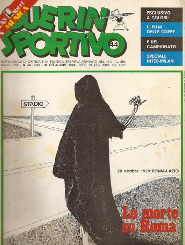 La copertina del Guerin Sportivo